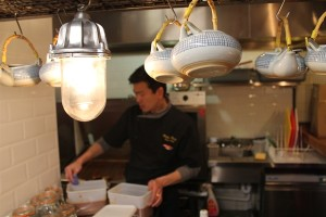 Executive Chef Ricky Pang making fresh and tasty pan-Asian food at Tootoomoo