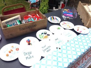 """Make your own meal"" at Tootoomoo craft stall at Highgate fair at Lauderdale House"