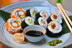 Mix it up! Healthy food in N4's got a bite with our delectable mixed sushi