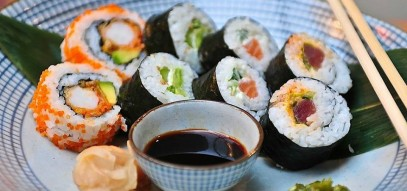 Mix it up! Healthy food in Kentish Town's got a bite with our delectable mixed sushi
