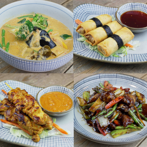 Mix it up for lunch and share and assortment of tasty pan Asian treats with colleagues